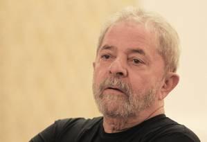 Condução coercitiva contra o presidente Lula foi autorizado na 24ª fase da Lava-Jato Foto: Marcos Alves / O Globo