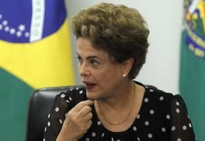 Ministros da presidente temem reação grupos sindicais e movimentos sociais Foto: Givaldo Barbosa / Agência O Globo