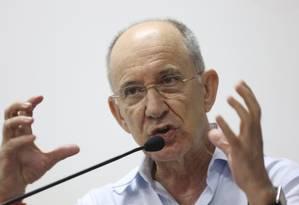 Rui Falcão, presidente nacional do PT Foto: Marcos Alves / Agência O Globo