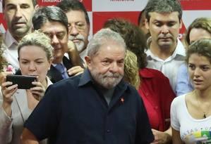 Lula ataca Lava-Jato e diz que se sentiu um prisioneiro Foto: Agência O Globo