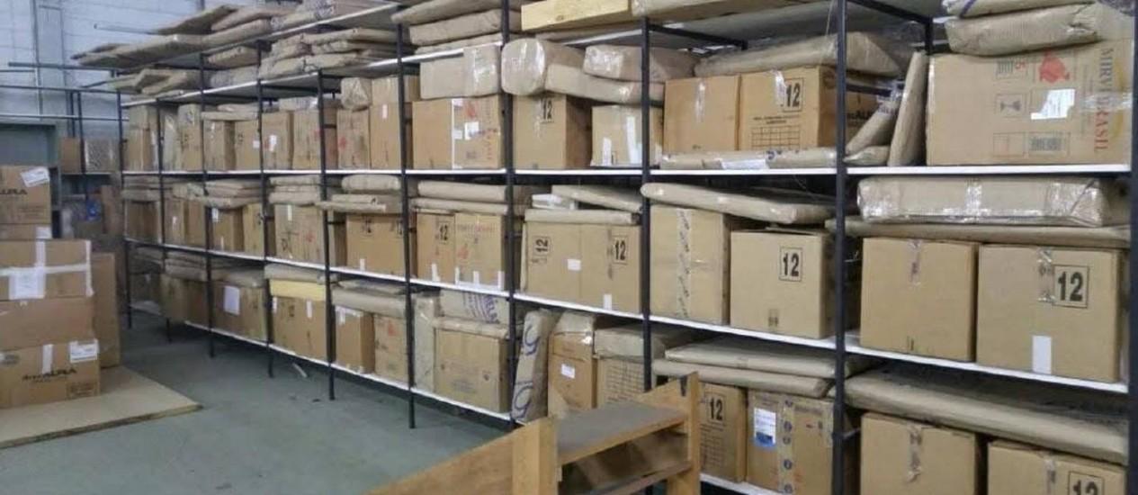 Material armazenado teria saído do Palácio do Planalto Foto: Divulgação