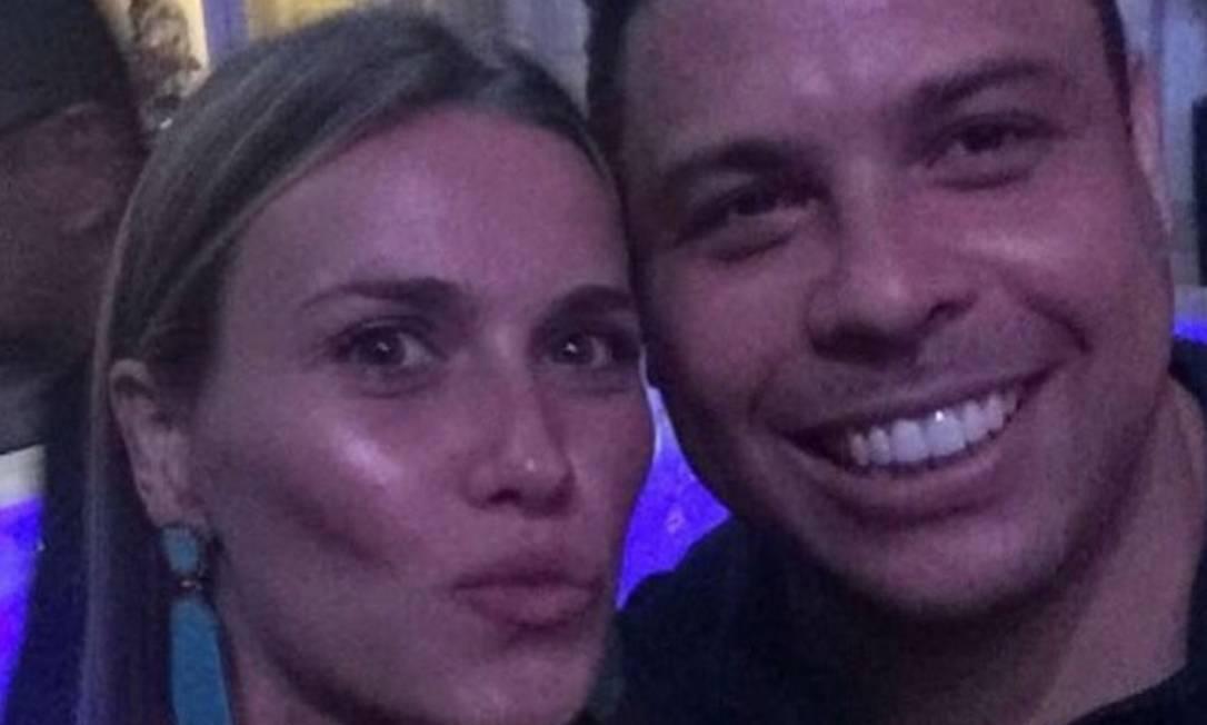 Renata Kuerten tietou Ronaldo Reprodução/Instagram