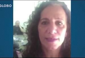 Lula reclama da operação Lava-Jato em vídeo gravado por Jandira Foto: Reprodução