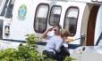 Dilma na Base Aérea de Congonhas