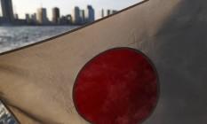 Bandeira do Japão Foto: Tomohiro Ohsumi / Bloomberg