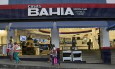 Loja das Casas Bahia na Rocinha Foto: Nadia Sussman / Bloomberg