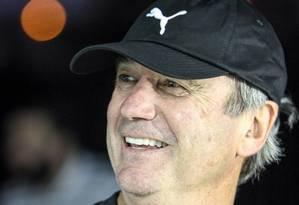 Levir Culpi dirigiu o Atlético-MG até o fim da temporada de 2015, último emprego dele antes de assumir o Fluminense Foto: BRUNO CANTINI / Divulgação / Atlético-MG