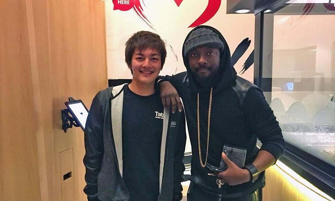 O rapper will.i.am também já esteve por lá Reprodução Facebook / Tatsu Ramen