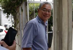 O presidente do Instituto Lula, Paulo Okamotto Foto: Edilson Dantas / Agência O Globo