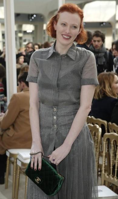 A modelo e cantora britânica Karen Elson Thibault Camus / AP