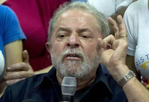 O ex-presidente Luiz Inácio Lula da Silva Foto: Nelson Almeida / AFP