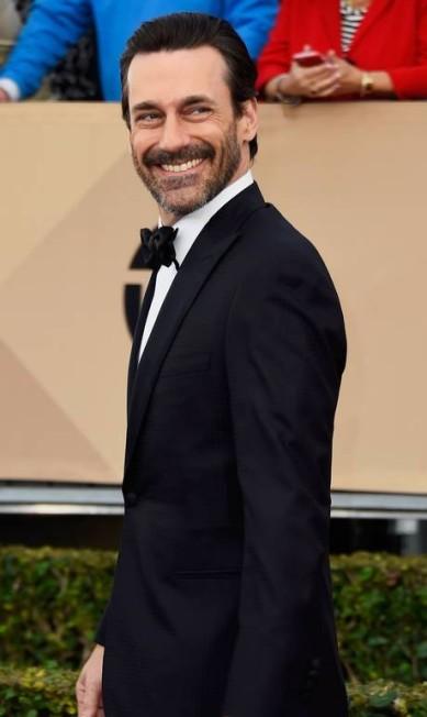 Indicado na categora de melhor ator de série dramática deste ano, o ator caprichou no traje de gala no SAG Awards deste ano Frazer Harrison / AFP