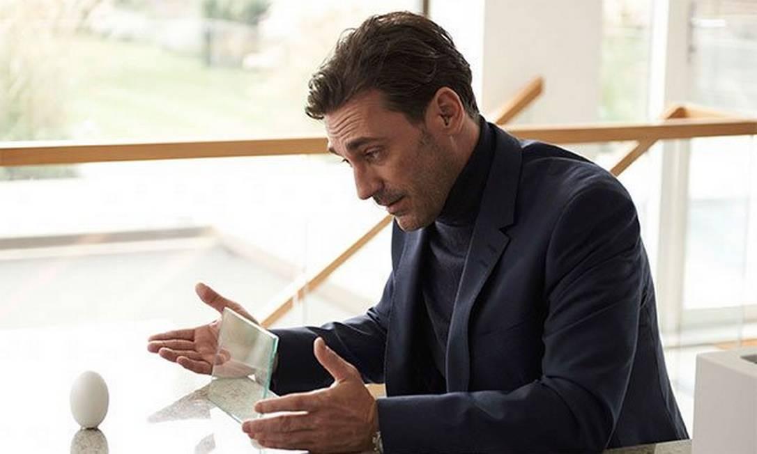 Em cena de 'Black Mirror': ele participou de um dos episódios da elogiada série britânica Divulgação
