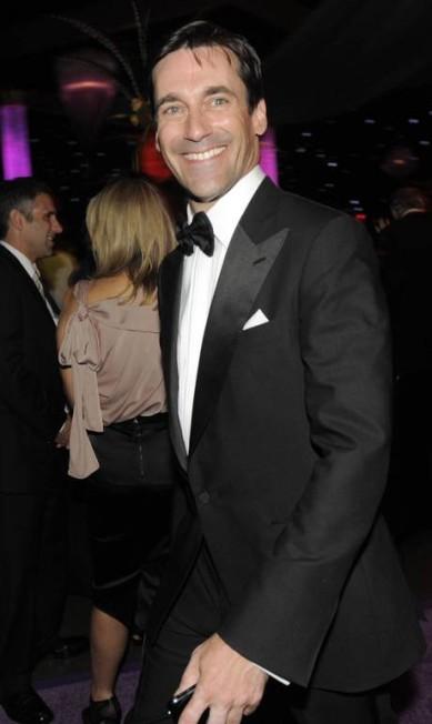Sorridente, durante o Emmy de 2009, em Los Angeles Jae C. Hong / AP