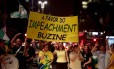 Movimento Pró-impeachment da presidente Dilma na Avenida Paulista