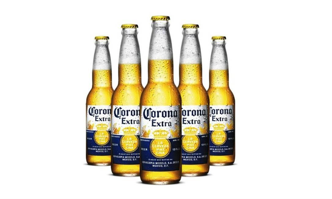 82e506187a Corona: pedaços de vidro foram encontrados em garrafas de 355 ml Foto:  Reprodução