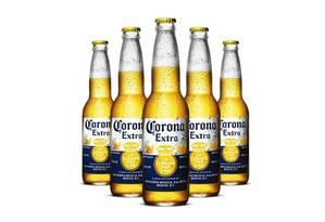 Corona: pedaços de vidro foram encontrados em garrafas de 355 ml Foto: Reprodução