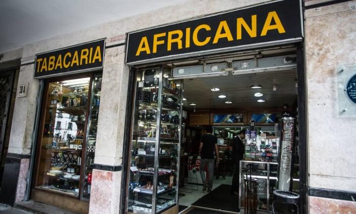 Tabacaria Africana, aberta em 1846 Foto: Aline Massuca / Divulgação