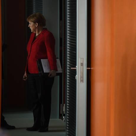 Chanceler alemã, Angela Merkel Foto: TOBIAS SCHWARZ / AFP