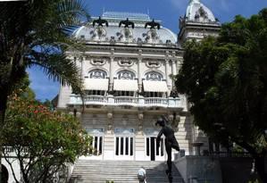 O Palácio Laranjeiras Foto: Hudson Pontes / Agência O Globo