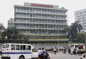 O Banco Central de Bangladesh foi alvo de ataque cibernético que roubou cerca de US$ 80 milhões Foto: ASHIKUR RAHMAN / REUTERS