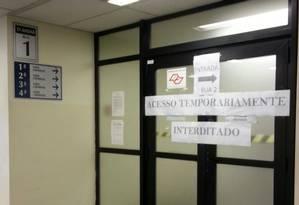 Acesso a 4ª Vara Criminal foi interditado para proteger juíza que decidirá se aceita pedido de prisão de Lula Foto: Jaqueline Falcão/ Agência O Globo