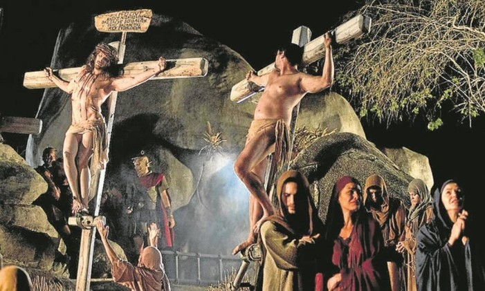 """""""Paixão de Cristo"""" em Pernambuco Foto: Divulgação"""