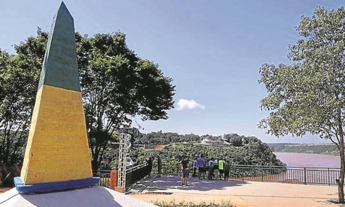 """A """"Paixão de Cristo"""", no Marco das Três Fronteiras, em Foz do Iguaçu Foto: Divulgação"""