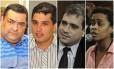Secretários Anderson Pipico, Fabiano Gonçalves, Andrigo de Carvalho e Verônica Lima devem concorrer a uma vaga no Legislativo