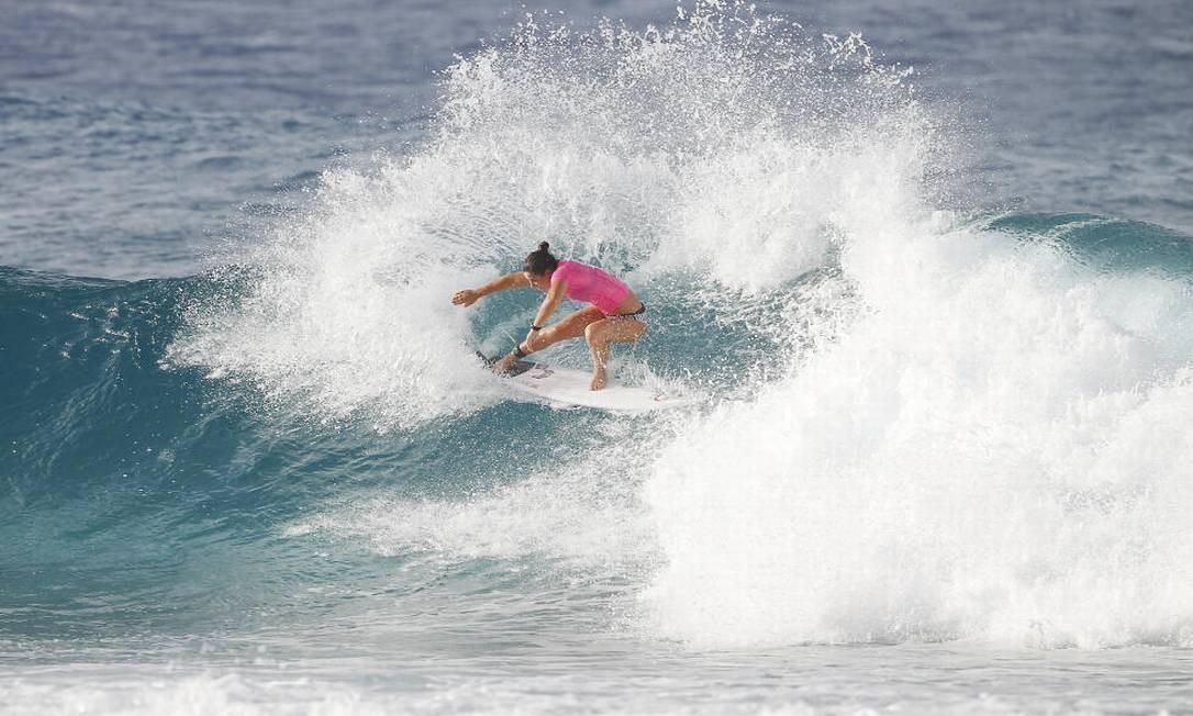 Assim como a australiana Tyler Wright Foto: Divulgação/WSL