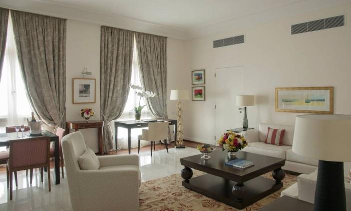 Suite do Hotel Copacabana Palace Foto: Romulo Fialdini / Divulgação