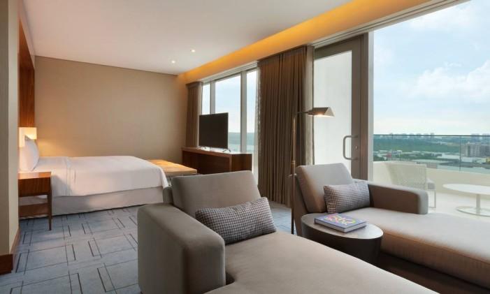 Suite presidencial do Hilton Barra Foto: Divulgação