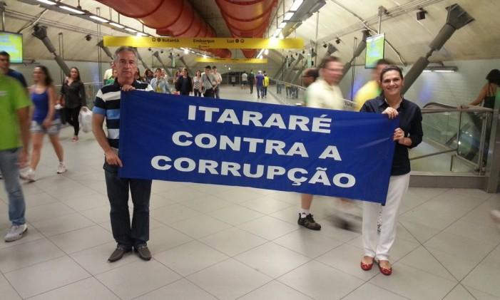 Adolfo Bandoni, de 57 anos Foto: Sérgio Roxo / Agência O Globo