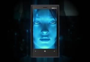 """O Cortana, da Microsoft, indicou serviços de apoio como resposta à frase """"eu fui estuprada"""" Foto: O GLOBO"""