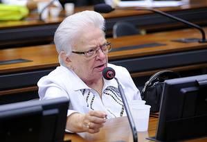 A deputada federal Luiza Erundina Foto: Agência Câmara