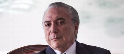 O vice-presidente, Michel Temer Foto: André Coelho / Agência O Globo 16/07/2014