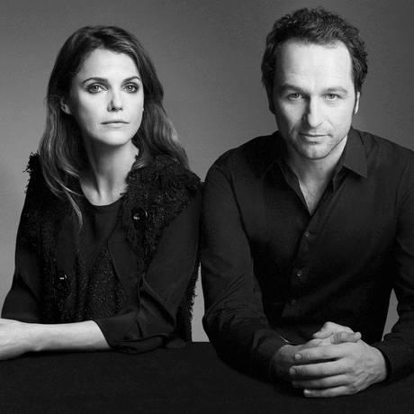 Keri Russell e Matthew Rhys, o casal Jennings, de 'The americans' Foto: Robert Ascroft / divulgação