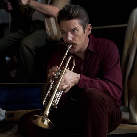 Ethan Hawke como Chet Baker em 'Born to be blue' Foto: Divulgação