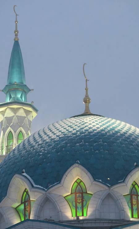 A mesquita de Kazan, na Russia Foto: Juarez Becoza / Juarez Becoza