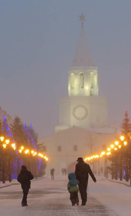 Kazan, na Rússia europeia foi conquistada pelo czar Ivan, o Terrível, em 1552 Foto: Juarez Becoza / Juarez Becoza