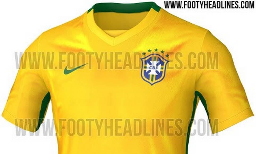 1eefe2d518617 Nova camisa da seleção brasileira será lançada no Aterro Foto  Reprodução