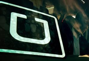 Travis Kalanick, cofundador e executivo-chefe do Uber, descreve o serviço como o futuro de sua empresa Foto: MARK RALSTON / MARK RALSTON/AFP