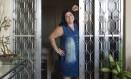 A casa de Lúcia Boudrini virou uma hospedaria em Marechal Hermes há nove anos Foto: Leo Martins / Agência O Globo