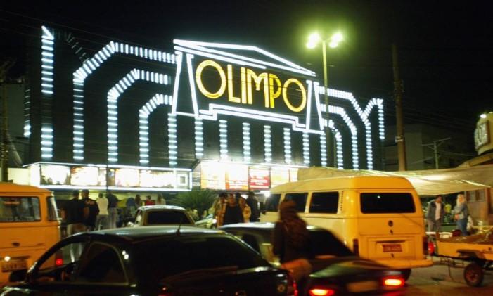 Olimpo, na Vila da Penha, na época em que ainda funcionava Foto: William de Moura