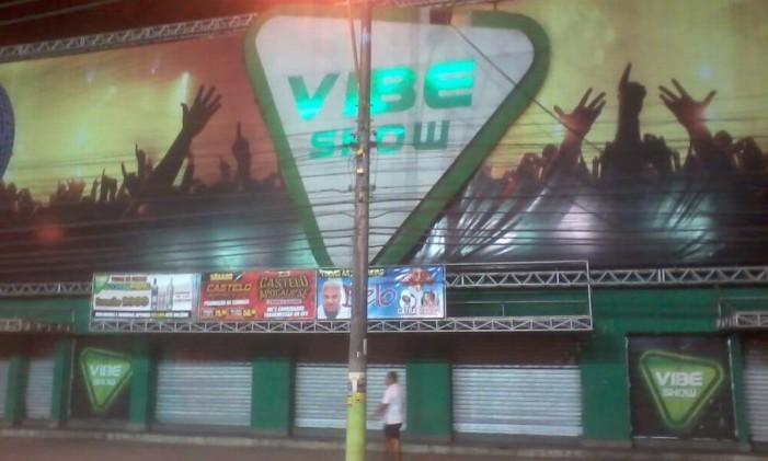 Vibe Show, casa de espetáculos em São Gonçalo Foto: Reprodução/Facebook