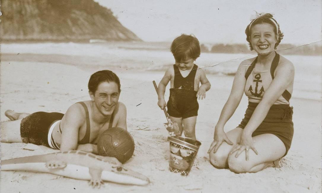 Fotos de família, parte do arquivo caseiro Foto: Ana Branco