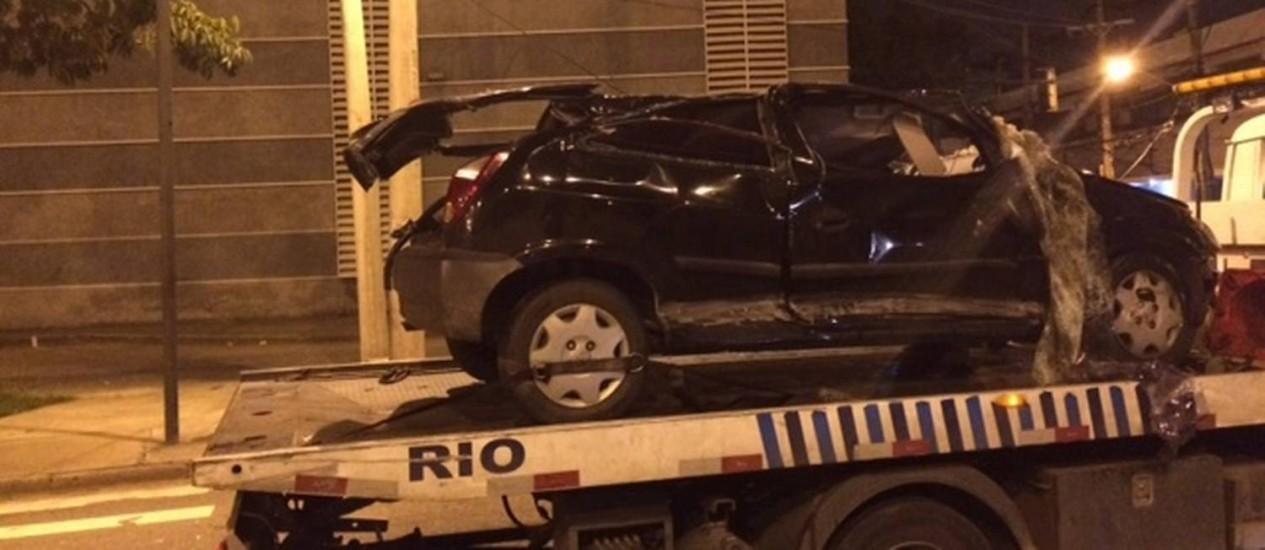 RIO - Acidente em São Cristovão deixa um morto Foto: divulgação / divulgação