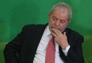Defesa do ex-presidente Lula recorreu ao STF Foto: ANDRE COELHO/17-03-2016 / Agência O Globo