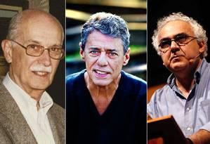 Antonio Candido, Chico Buarque e Milton Hatoum assinam manifesto em prol da democracia Foto: Reprodução