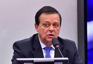 O relator da Comissão de Impeachment na Câmara, Jovair Arantes (PTB-GO) Foto: Agência Câmara
